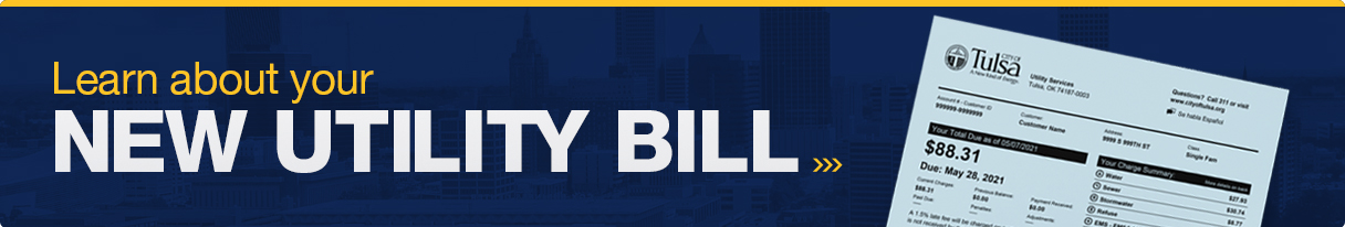 Learn More About Your New Utility Bill Banner
